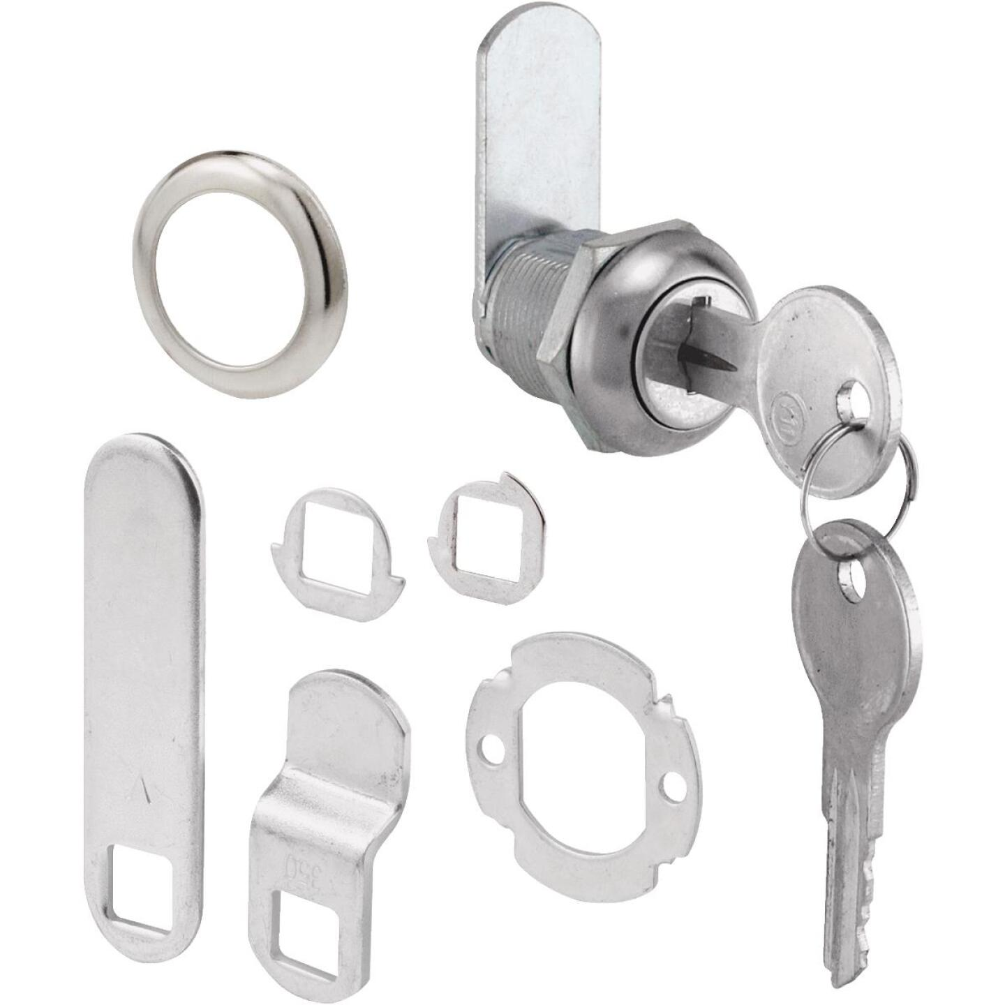 Defender Security 5/8 In. L. x 3/4 In. Dia. Drawer & Cabinet Lock Image 1
