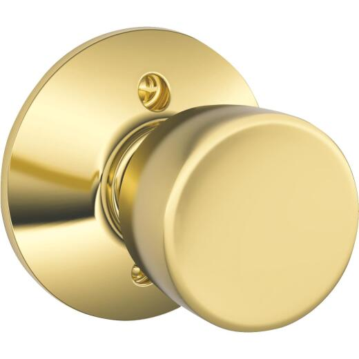 Schlage Bright Brass Bell Dummy Door Knob