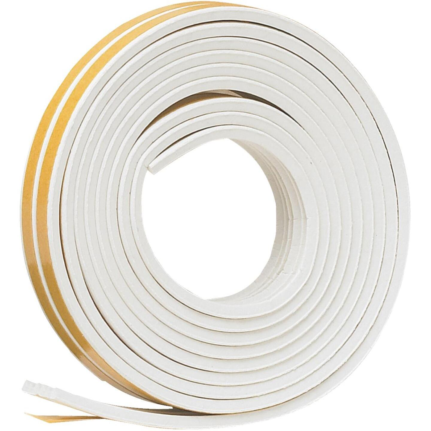 Do it Best 3/8 In. x 17 Ft. White Narrow Weatherseal Tape Image 3