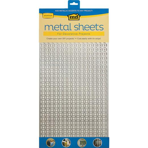 M-D 1 Ft. x 2 Ft. x .020 In. Elliptical Metal Sheet Stock