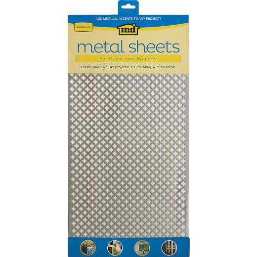 M-D 1 Ft. x 2 Ft. x .020 In. Cloverleaf Metal Sheet Stock