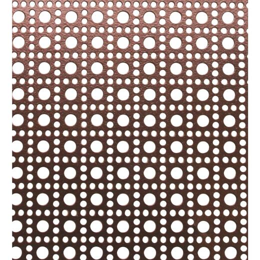 M-D 3 Ft. x 3 Ft. x .020 In. Venetian Bronze Lincaine Aluminum Sheet Stock