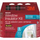 3M Indoor 62 In. x 210 In. Window Insulation Kit, (5-Pack) Image 1
