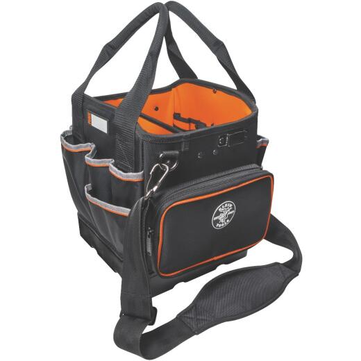 Klein Tradesman Pro 40-Pocket 10 In. Tool Tote