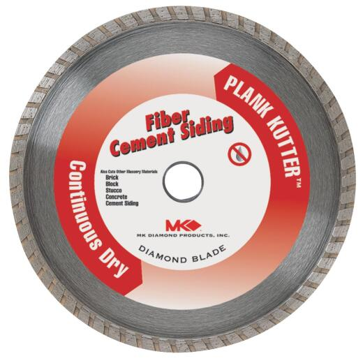 MK Diamond Plank Kutter 4 In. Turbo Rim Dry Cut Diamond Blade