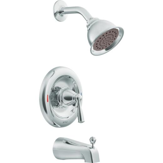 Moen Chrome 1-Handle Lever Tub and Shower Faucet