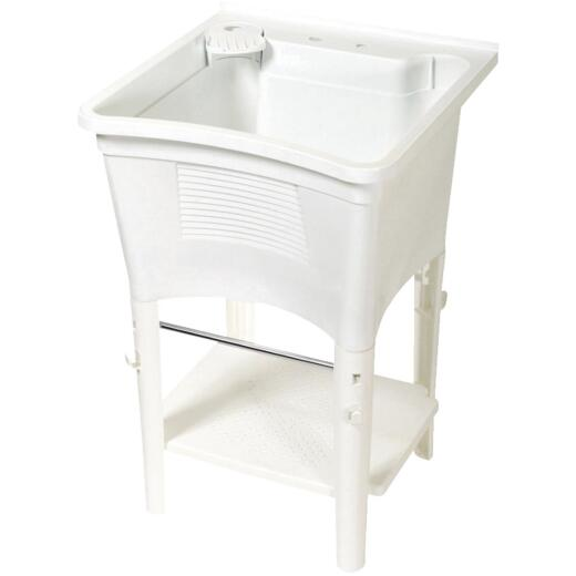 Zenith Basic Ergo 20 Gallon 24 In. W x 24 In. L Laundry Tub