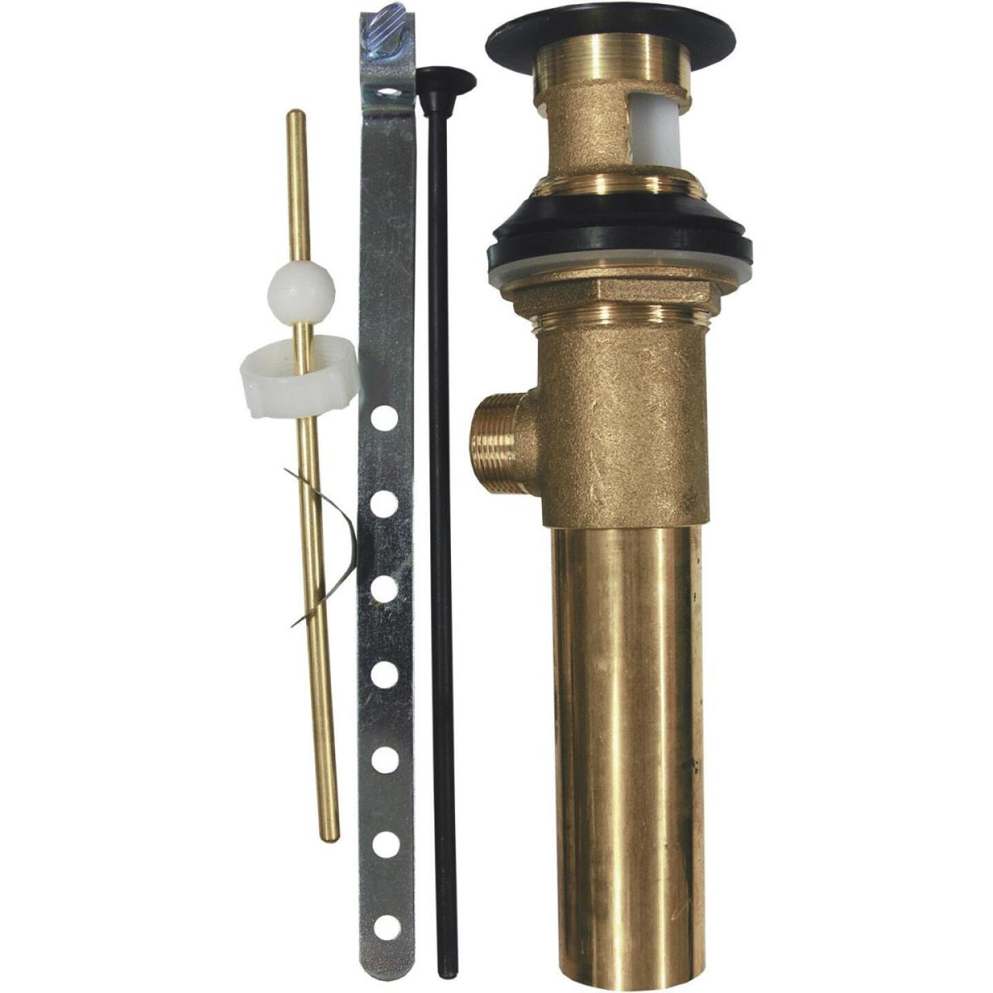 Lasco 1-1/4 In. Oil-Rubbed Bronze Brass Pop-Up Assembly Image 1