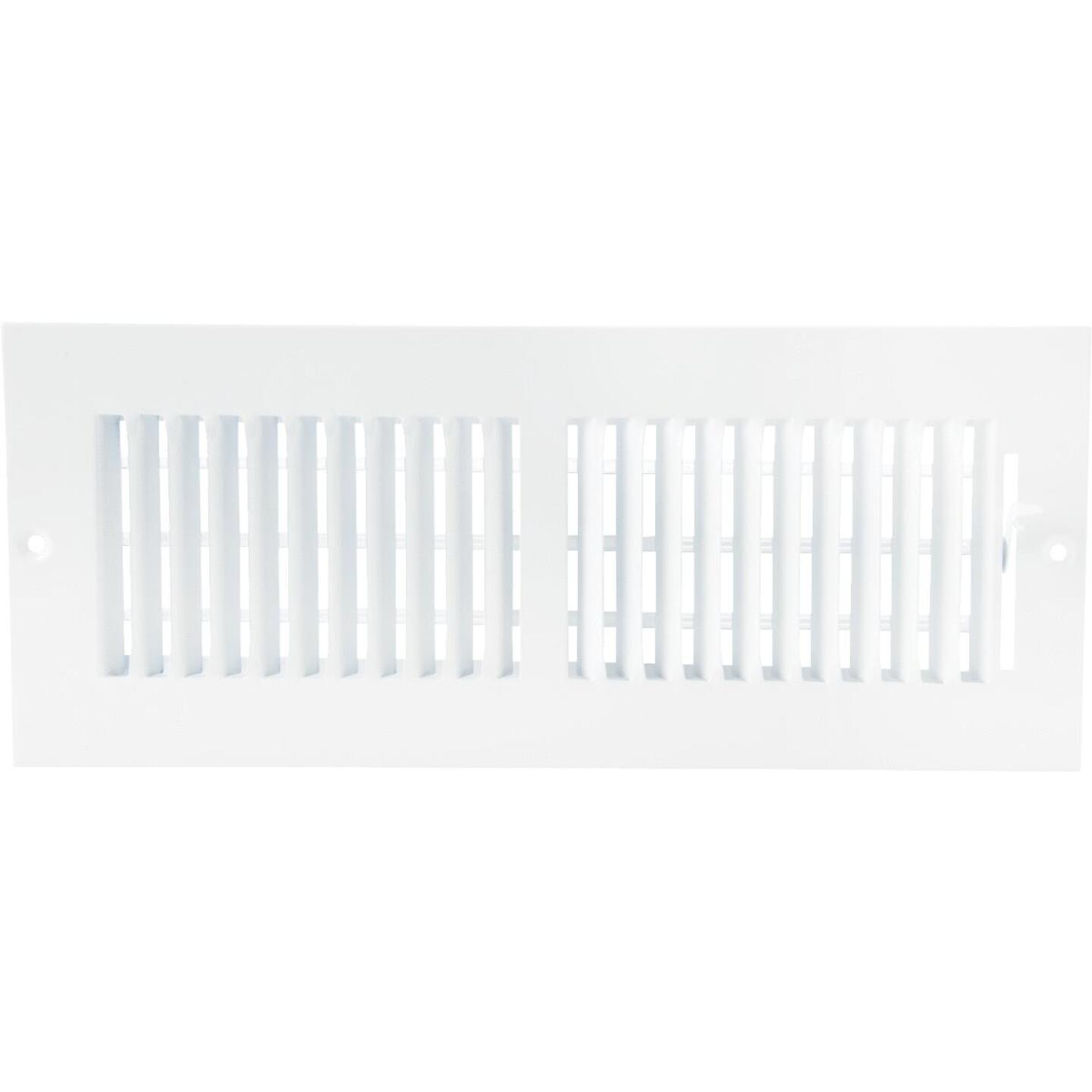 Home Impressions White Steel 5.75 In. Wall Register Image 2