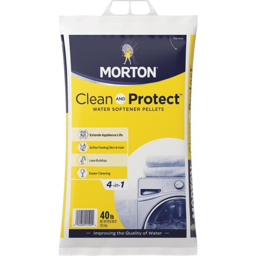 Morton Clean and Protect 40 Lb. Water Softener Salt Pellets