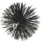 Meeco's Red Devil 6 In. Round Poly Chimney Brush Image 1