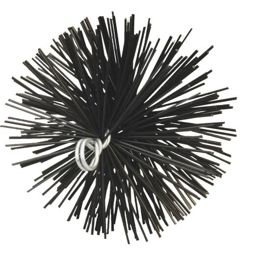 Meeco's Red Devil 6 In. Round Poly Chimney Brush