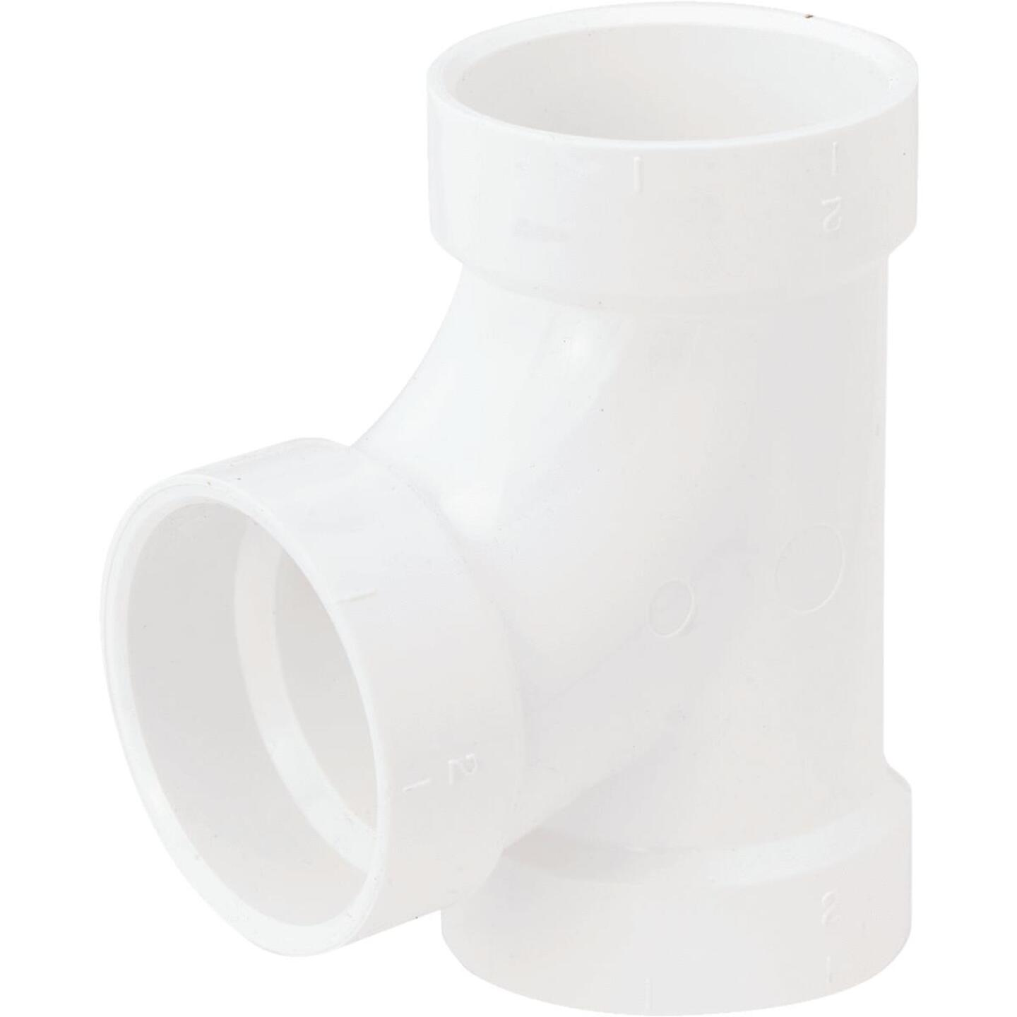Charlotte Pipe 2 In. Schedule 40 Sanitary PVC Tee Image 1