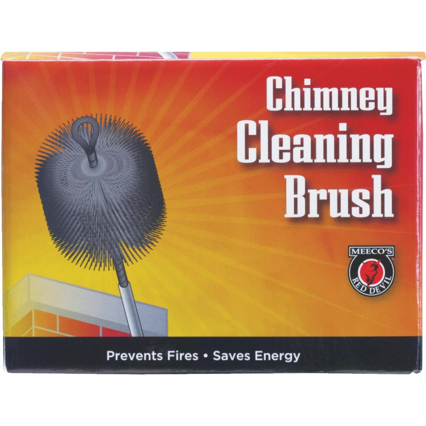 Meeco's Red Devil 7 In. Square Wire Chimney Brush Image 2