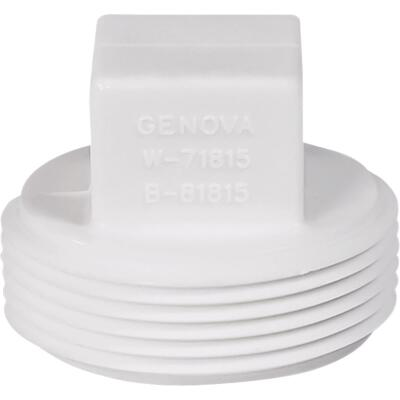 Charlotte Pipe 1-1/2 In. Schedule 40 DWV Cleanout PVC Plug