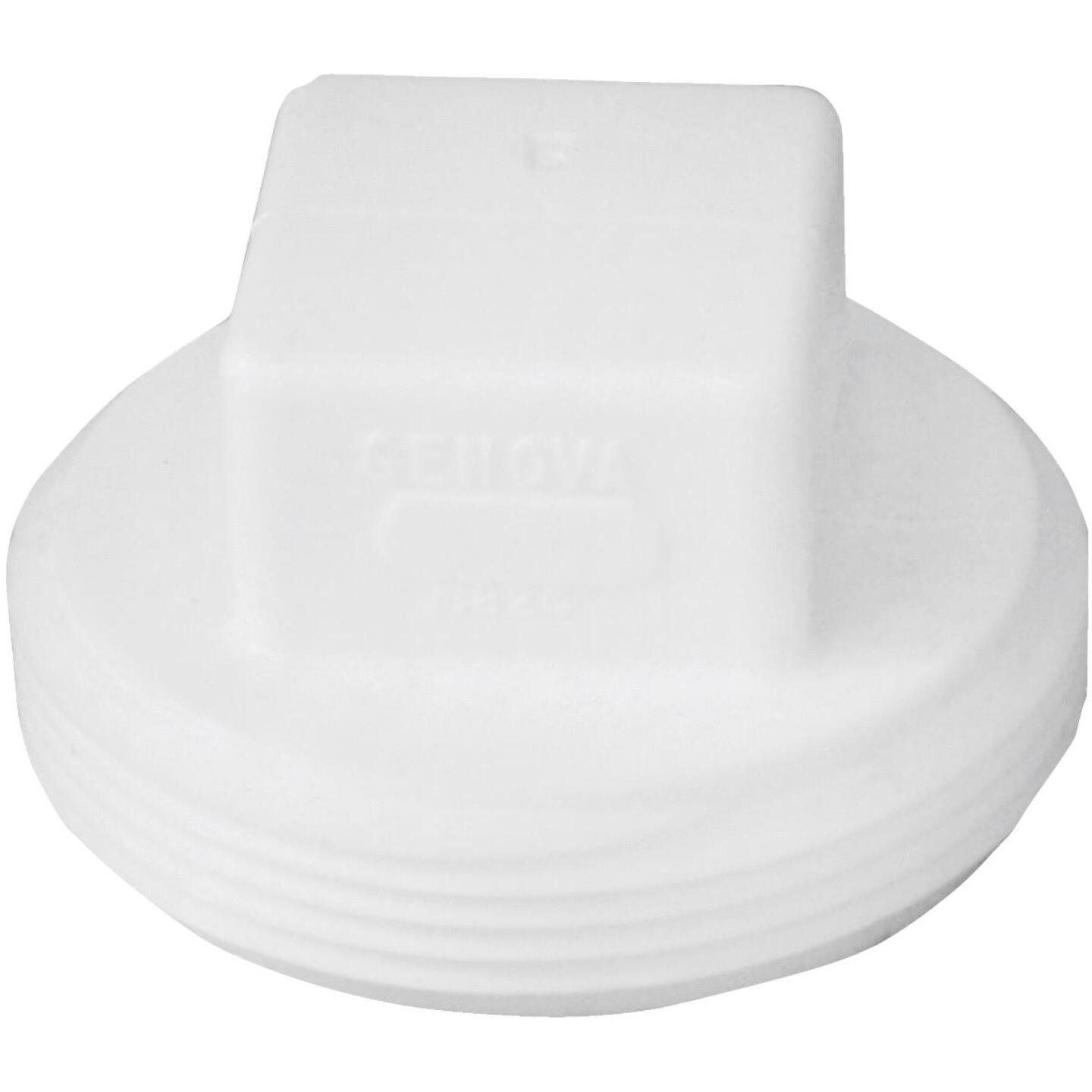 Charlotte Pipe 2 In. Schedule 40 DWV Cleanout PVC Plug Image 1