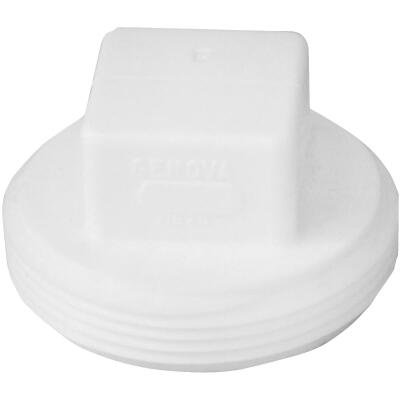 Charlotte Pipe 2 In. Schedule 40 DWV Cleanout PVC Plug