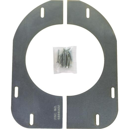 Sioux Chief Zinc Plated Closet Support Flange