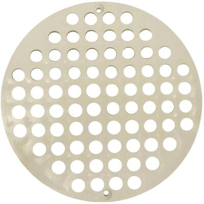 Jones Stephens Replacement 7-1/8 In. PVC Floor Strainer
