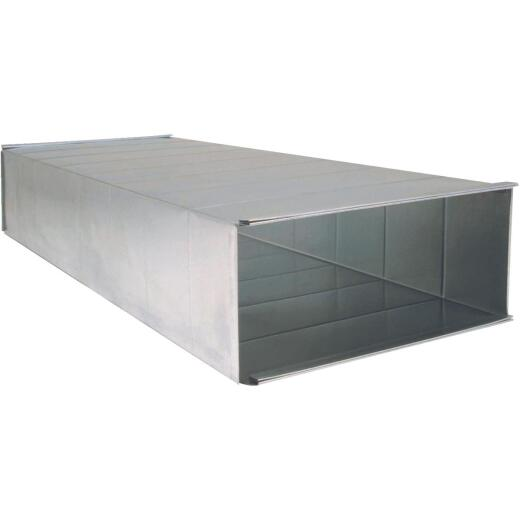 Imperial 28 Ga. 8 In. x 20 In. x 48 In. Galvanized Trunk Duct