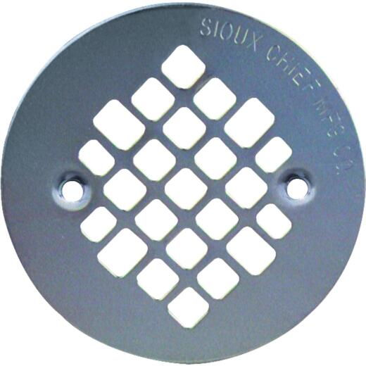 Sioux Chief 4-1/4 In. Stainless Steel Shower Drain Strainer