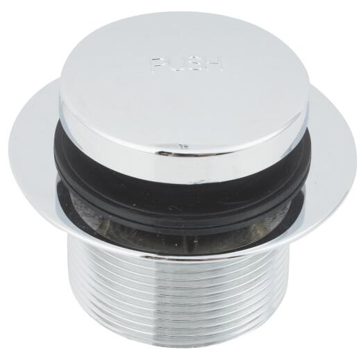 Do it 1-7/8 In. to 2-1/4 In. Bathtub Drain Stopper with Chrome Plated Finish