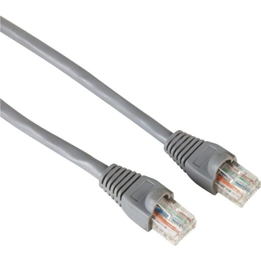 RCA 3 Ft. CAT-6 Gray Network Cable