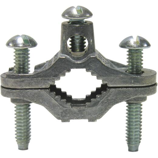 Gardner Bender 1/2 In. to 1 In. Pipe Set Screw Ground Clamp