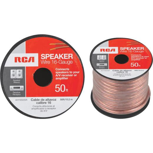 RCA 50 Ft. 16-2 Stranded Speaker Wire