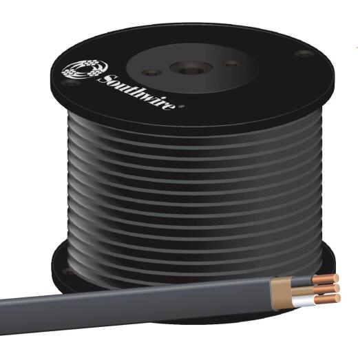 Romex 500 Ft. 8-2 Solid Black NMW/G Wire