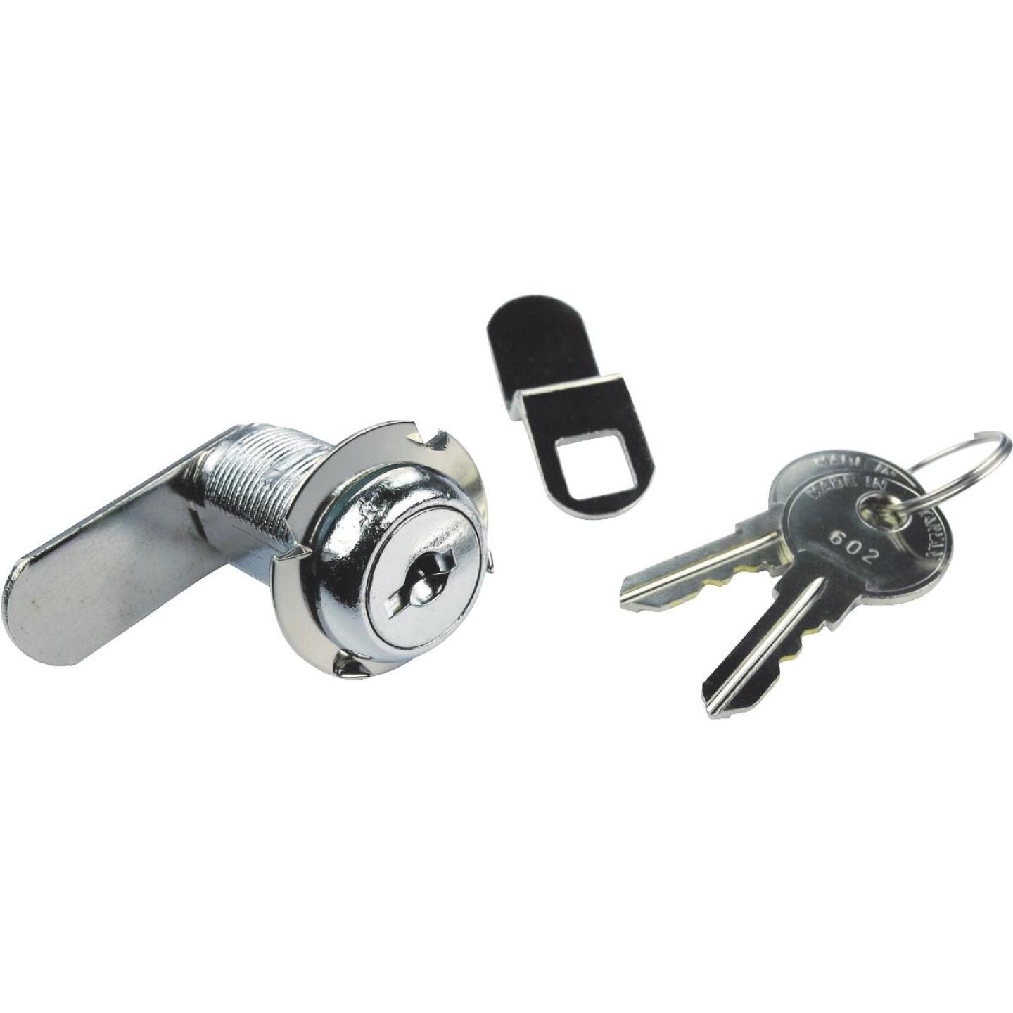 Seachoice 1-1/8 In. Chrome Finished Steel Cam Lock Image 1