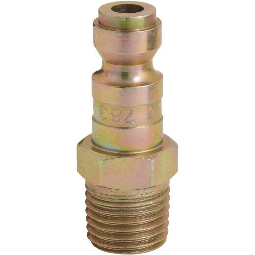 Milton 1/4 In. FMPT Steel-Plated T-Style Plug