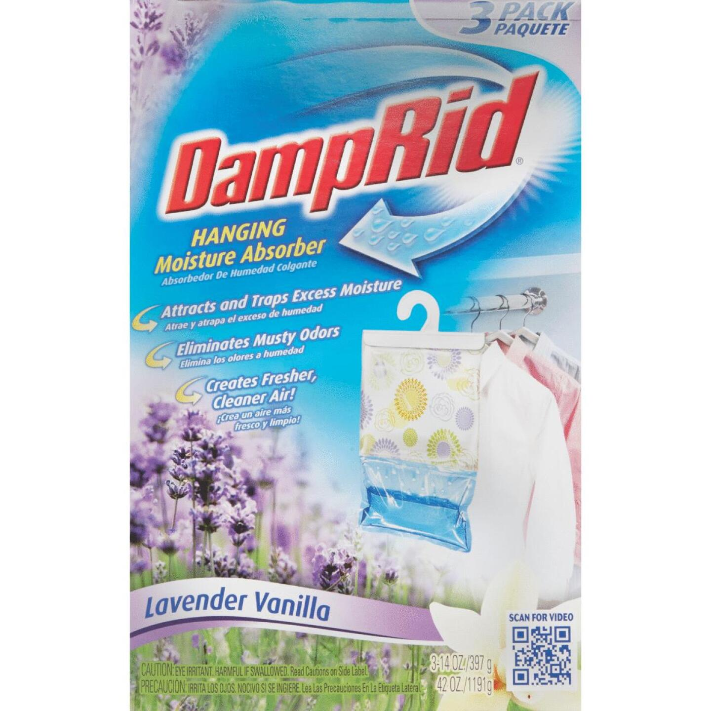 DampRid 42 Oz. Lavender Vanilla Hanging Moisture Absorber (3-Count) Image 2