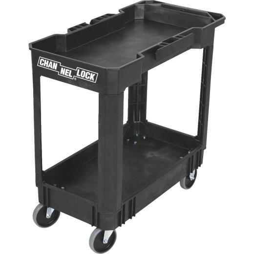 Channellock Heavy-Duty 240 Lb./Shelf Utility Cart