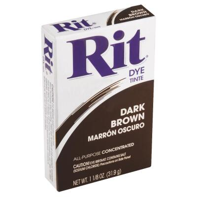 Rit Dark Brown 1-1/8 Oz. Powder Dye