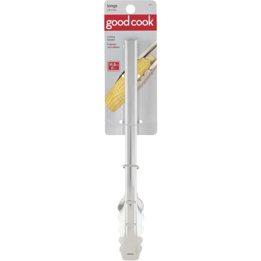 Goodcook 12 In. Spring Action Tongs