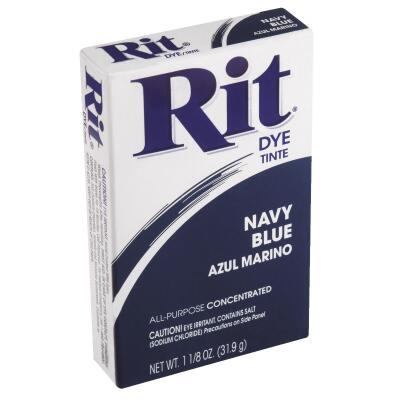 Rit Navy Blue 1-1/8 Oz. Powder Dye