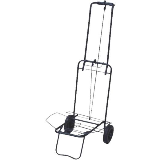 Narita Trading Foldable Black Luggage Cart