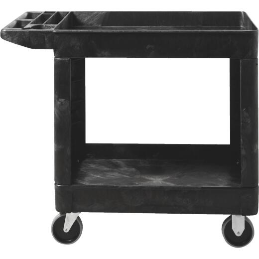 Rubbermaid Heavy-Duty 250 Lb./Shelf Commercial Utility Cart