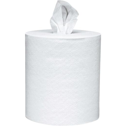 Kimberly Clark Kleenex White Premiere Center Flow Roll Towel (4 Count)