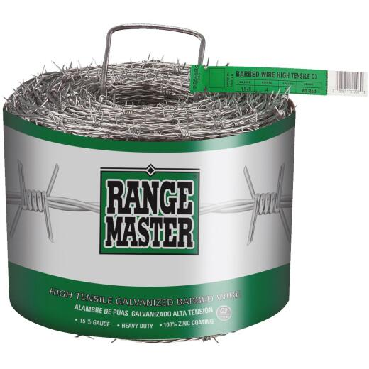 Range Master 1320 Ft. x 15.5 Ga. 4 Pt. Barbed Wire