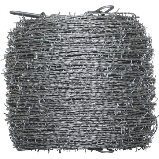 Oklahoma Steel & Wire 1320 Ft. x 15.5 Ga. 2 Pt. High-Tensile Barbed Wire