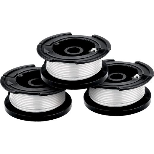 Black & Decker GrassHog 0.065 In. x 30 Ft. Trimmer Line Spool (3-Pack)