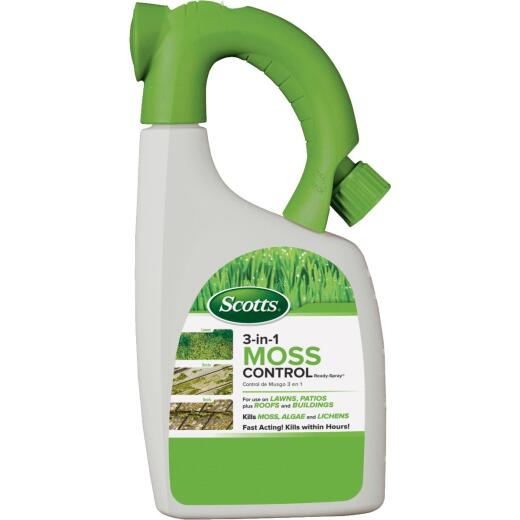 Ortho Moss B Gon 32 Oz. Ready To Spray Moss & Algae Killer