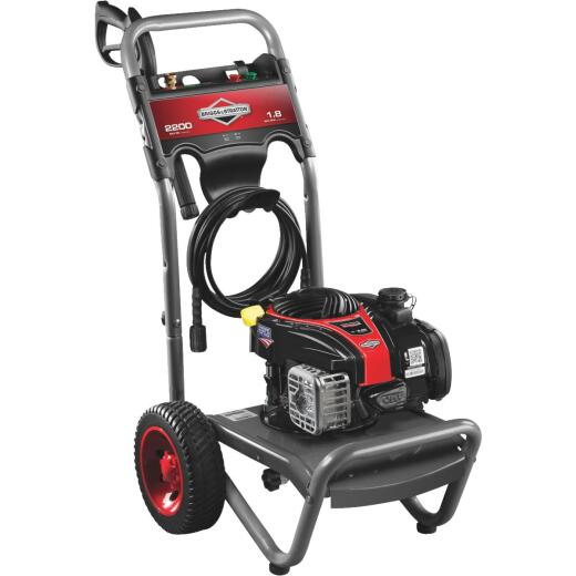Briggs & Stratton 2200 psi 1.9 GPM Cold Water Gas Pressure Washer