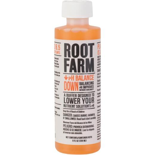 Root Farm 8 Oz. Concentrated Liquid pH Balance Down For Nutrient Solution