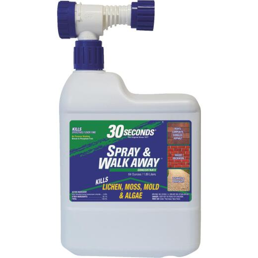 30 seconds Spray & Walk Away 64 Oz. Ready To Spray Moss & Algae Killer