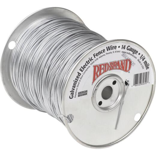 Keystone Red Brand 1/4-Mile x 14 Ga. Steel Electric Fence Wire