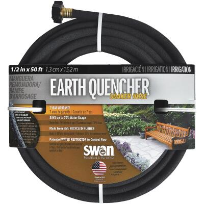 Swan Earth Quencher 1/2 In. Dia. x 50 Ft. L. Soaker Hose