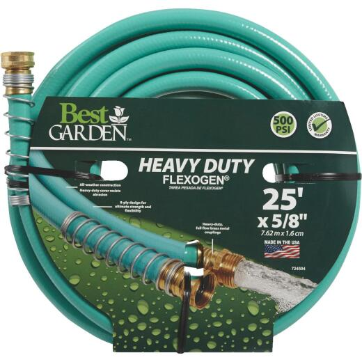 Best Garden Flexogen 5/8 In. Dia. x 25 Ft. L. Garden Hose